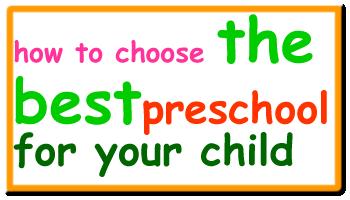 choosing-a-preschool