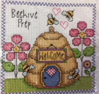 Beehive pic cross stitch